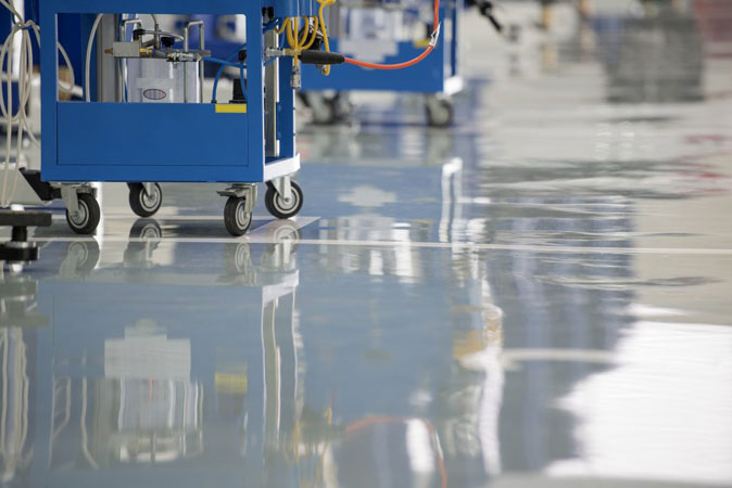 Self Levelling Epoxy Paint Supply & Implementation